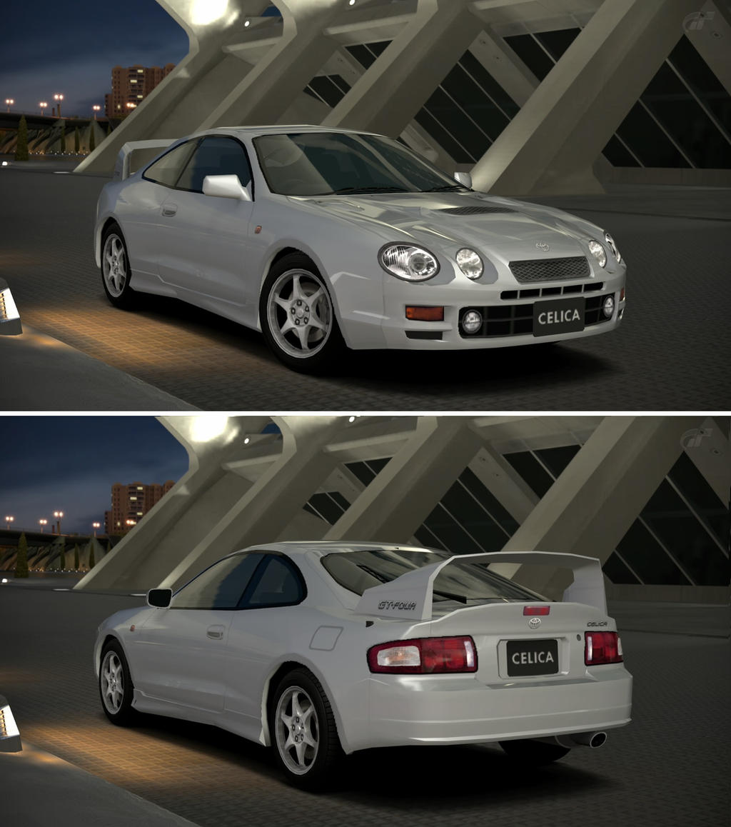 Toyota Celica Coupe 1600 Gt: Toyota CELICA GT-FOUR (ST205) '98 By GT6-Garage On DeviantArt