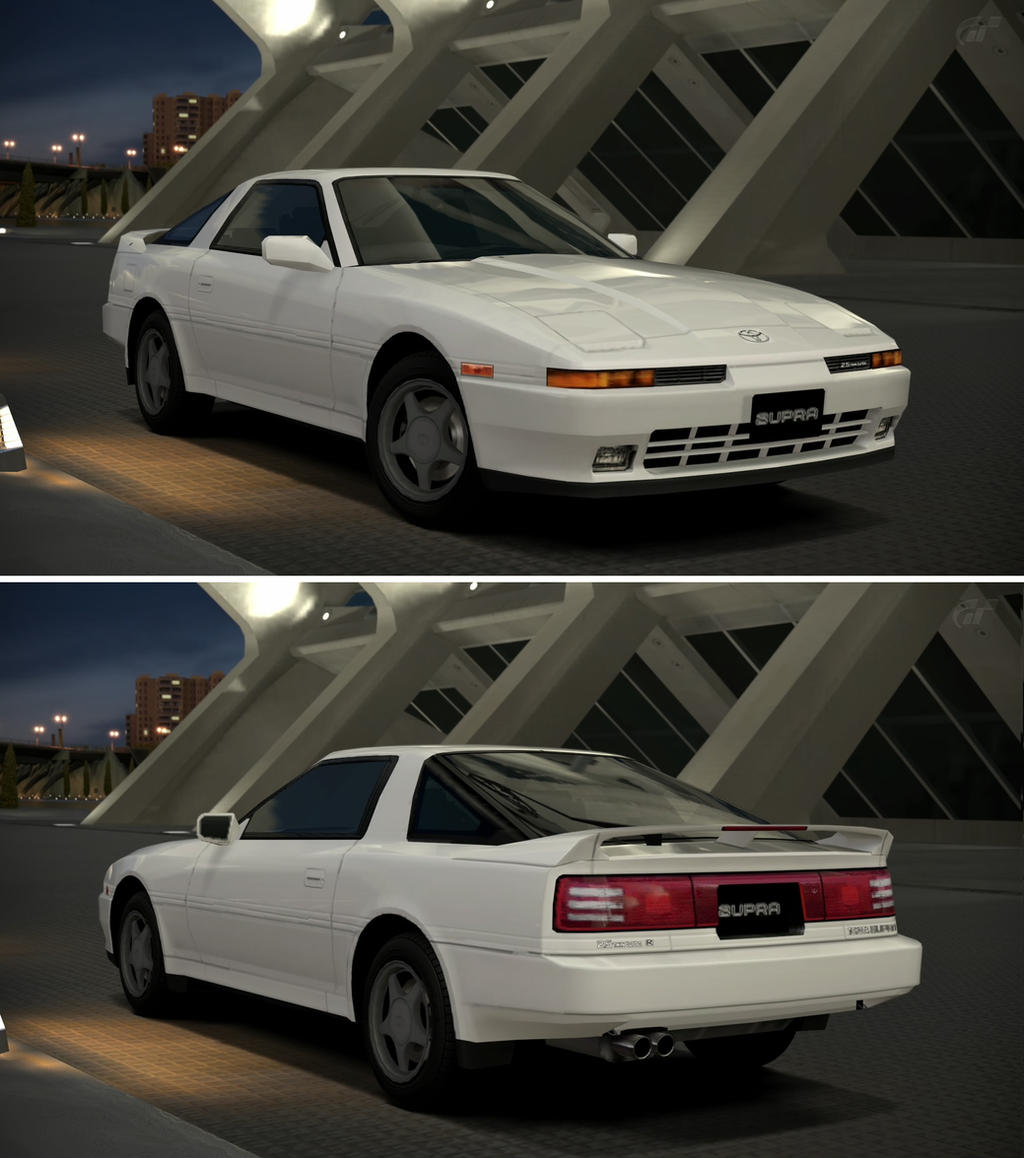 toyota supra 2 5gt twin turbo r 39 90 by gt6 garage on. Black Bedroom Furniture Sets. Home Design Ideas