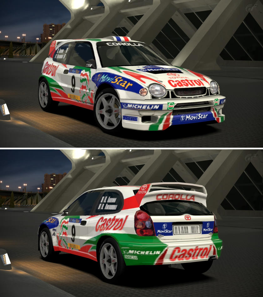 Toyota COROLLA Rally Car \'98 by GT6-Garage on DeviantArt