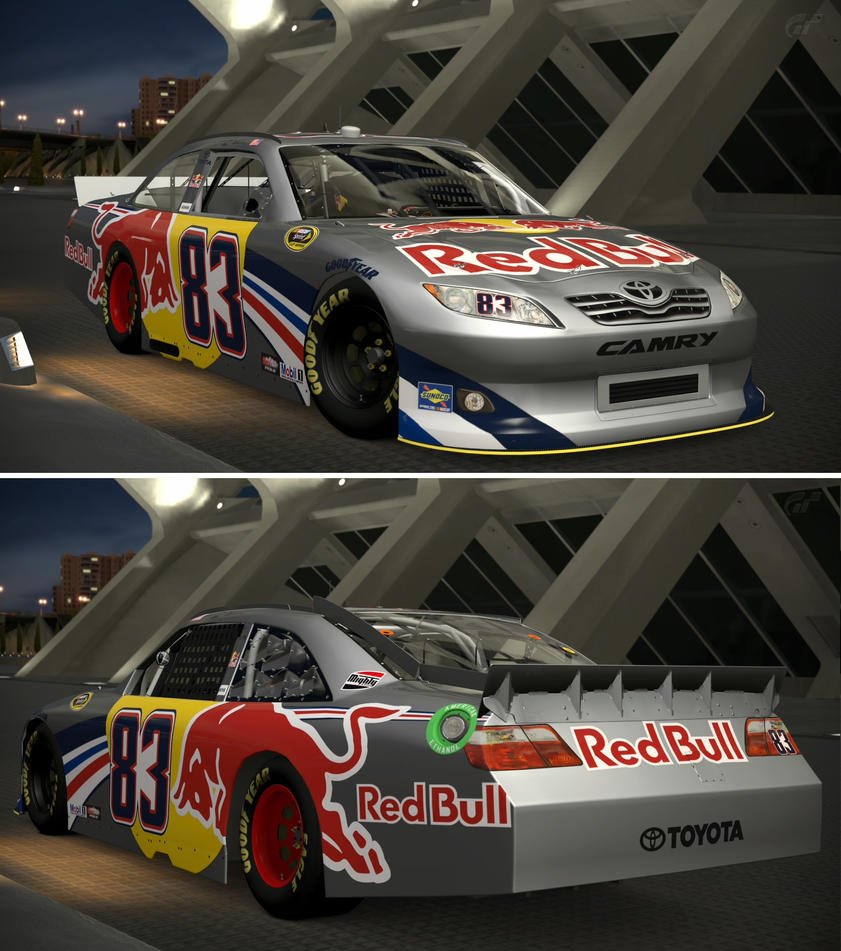 Toyota 2011 Brian Vickers #83 Red Bull TOYOTA C... by GT6-Garage on