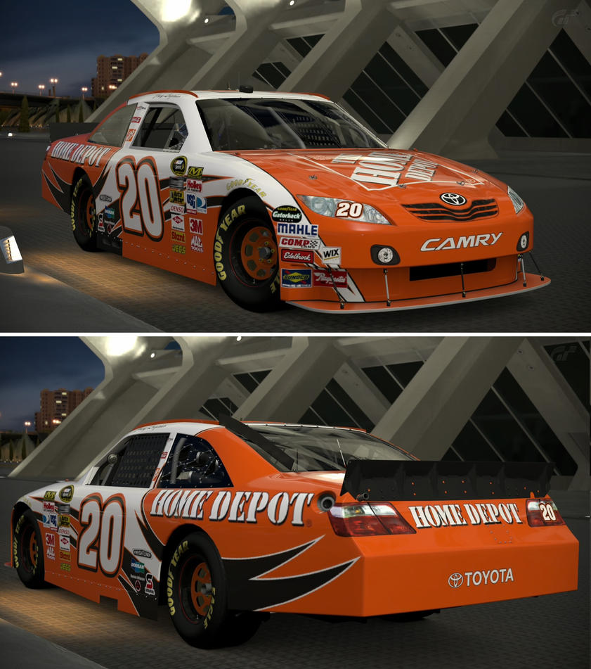joey logano coloring pages - toyota 2010 joey logano 20 the home depot toyo by gt6