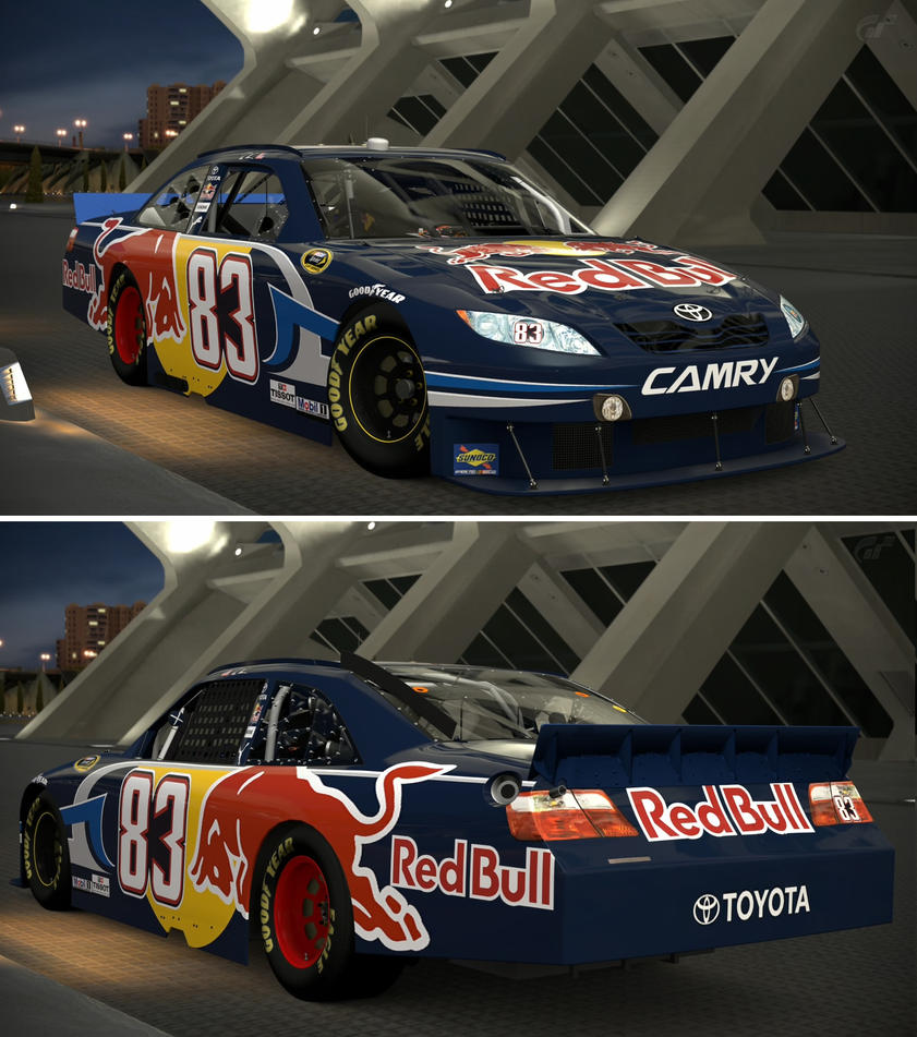 Toyota 2010 Brian Vickers #83 Red Bull TOYOTA C... by GT6-Garage on