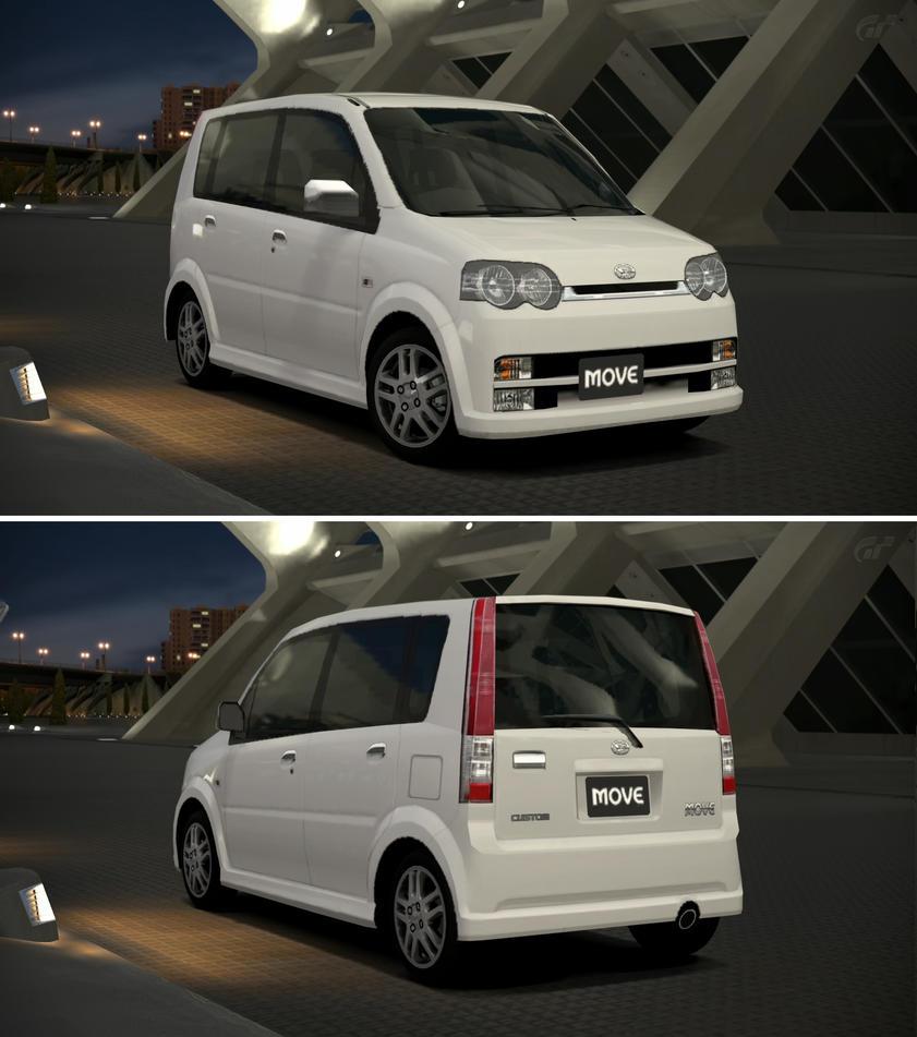 Daihatsu Car Wallpaper: Daihatsu MOVE Custom RS Limited '02 By GT6-Garage On