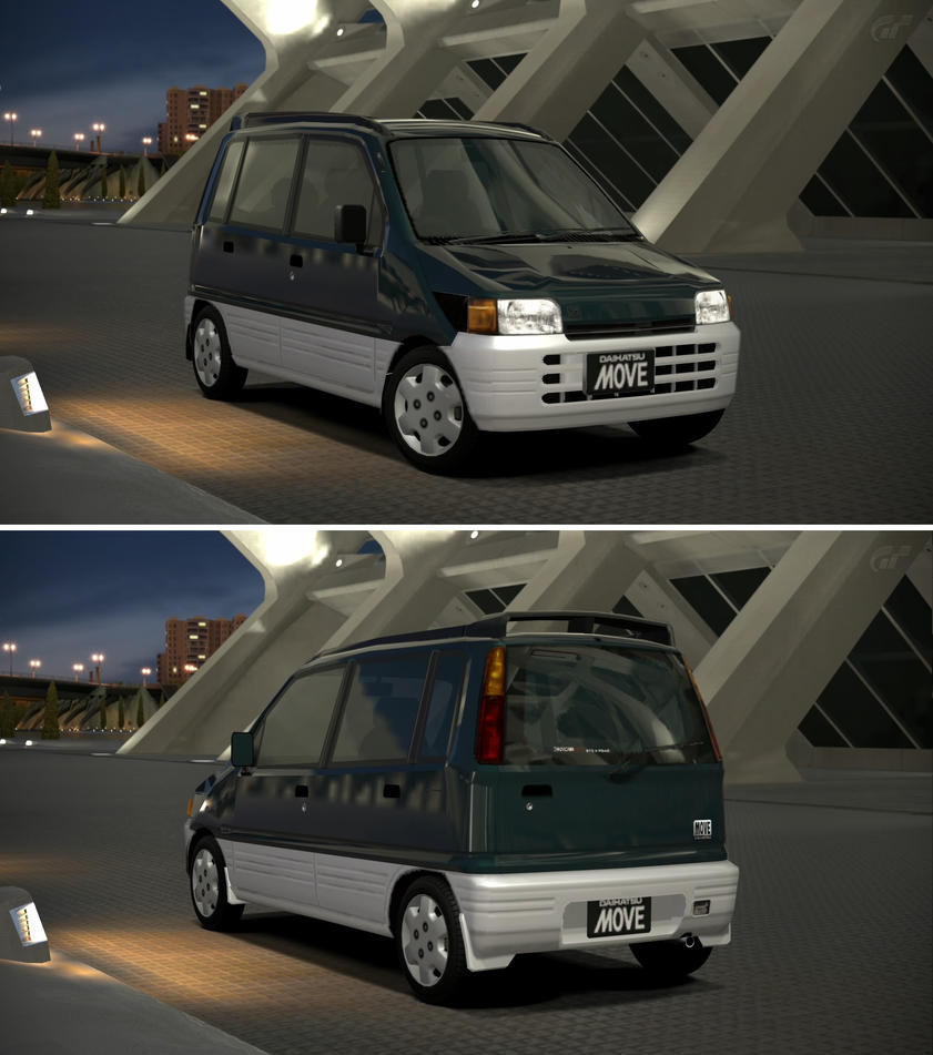 Daihatsu Car Wallpaper: Daihatsu MOVE CX '95 By GT6-Garage On DeviantArt