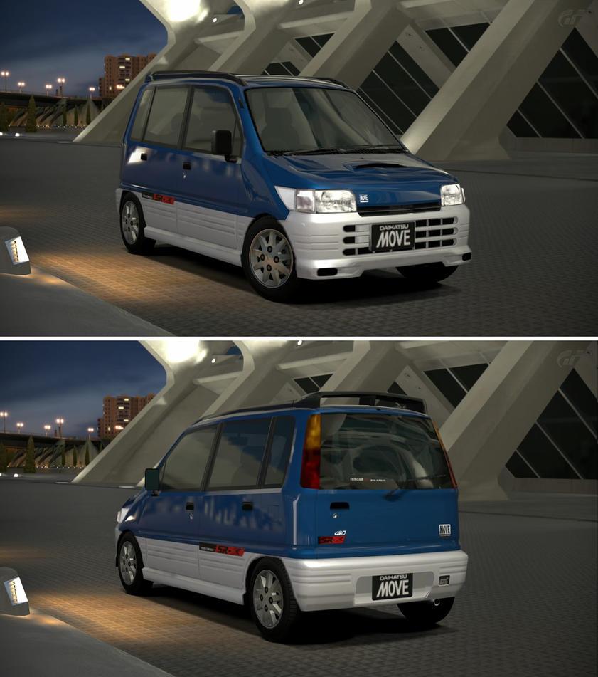 Daihatsu Car Wallpaper: Daihatsu MOVE SR-XX 4WD '97 By GT6-Garage On DeviantArt