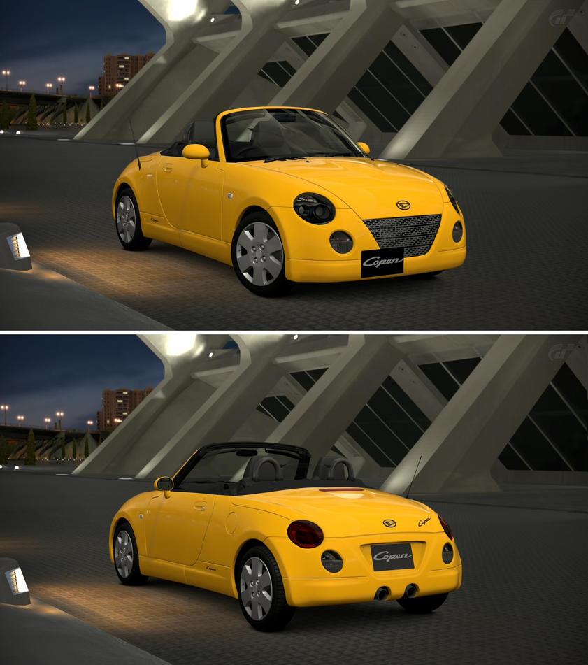 Daihatsu Car Wallpaper: Daihatsu Copen Active Top '02 By GT6-Garage On DeviantArt