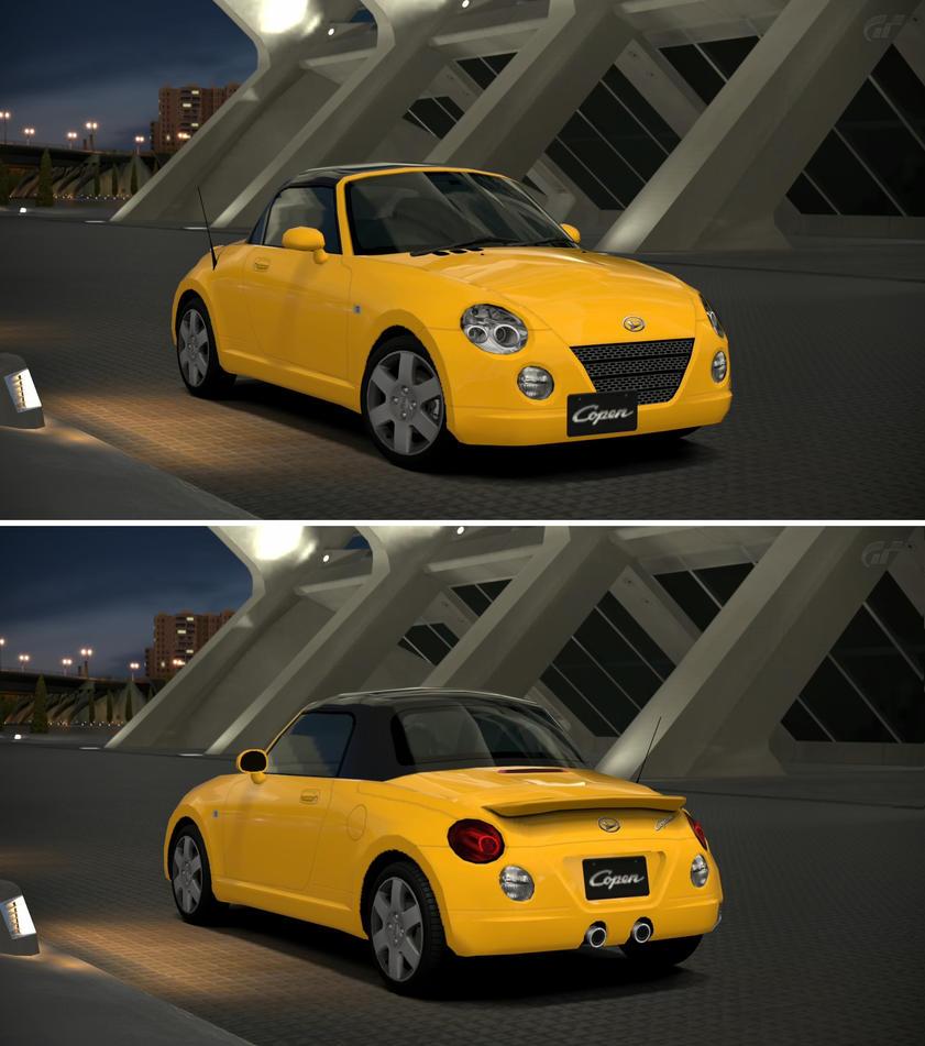 Daihatsu Copen Detachable Top '02 By GT6-Garage On DeviantArt