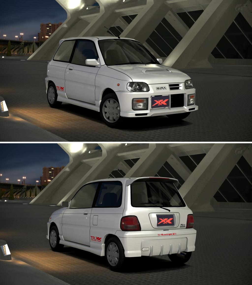 Daihatsu Car Wallpaper: Daihatsu MIRA TR-XX Avanzato R '97 By GT6-Garage On DeviantArt