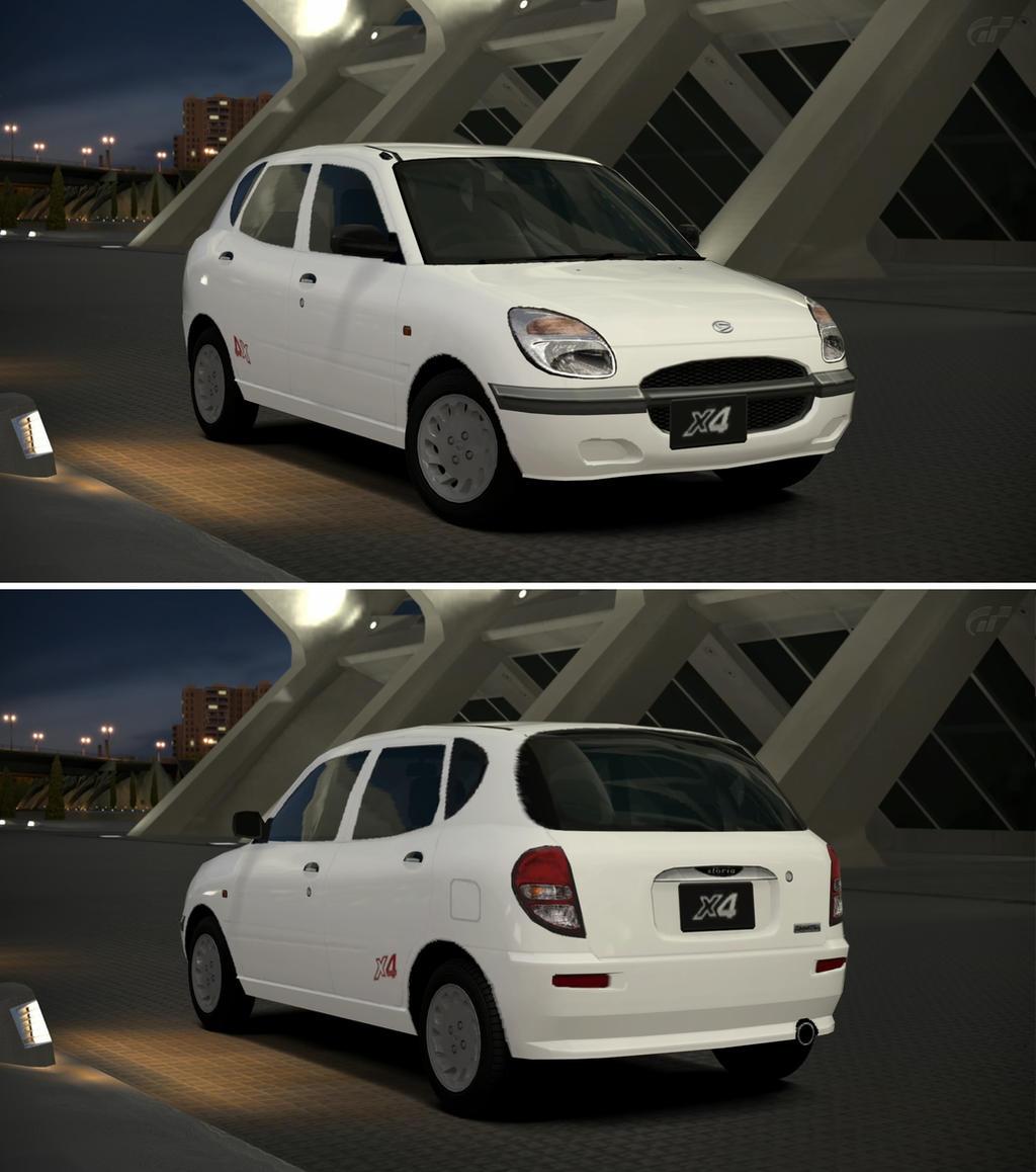 Daihatsu Car Wallpaper: Daihatsu STORIA X4 '00 By GT6-Garage On DeviantArt