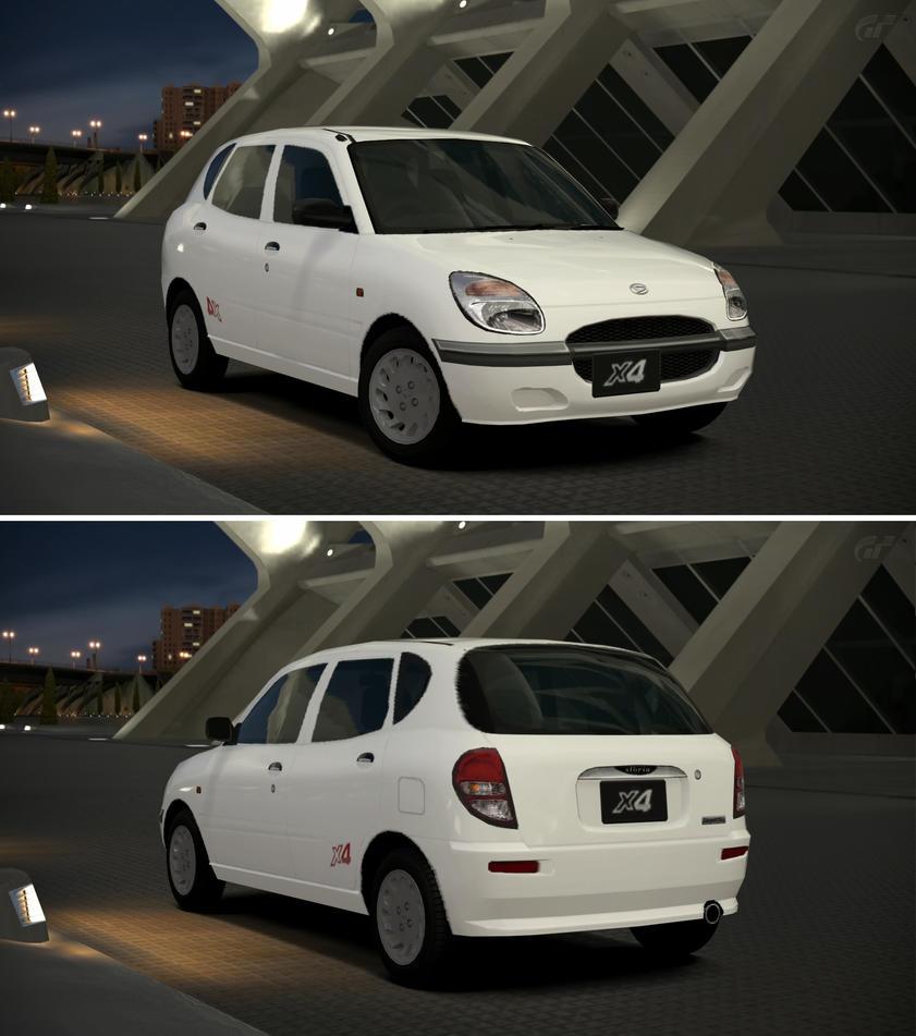 Daihatsu STORIA X4 '00 By GT6-Garage On DeviantArt