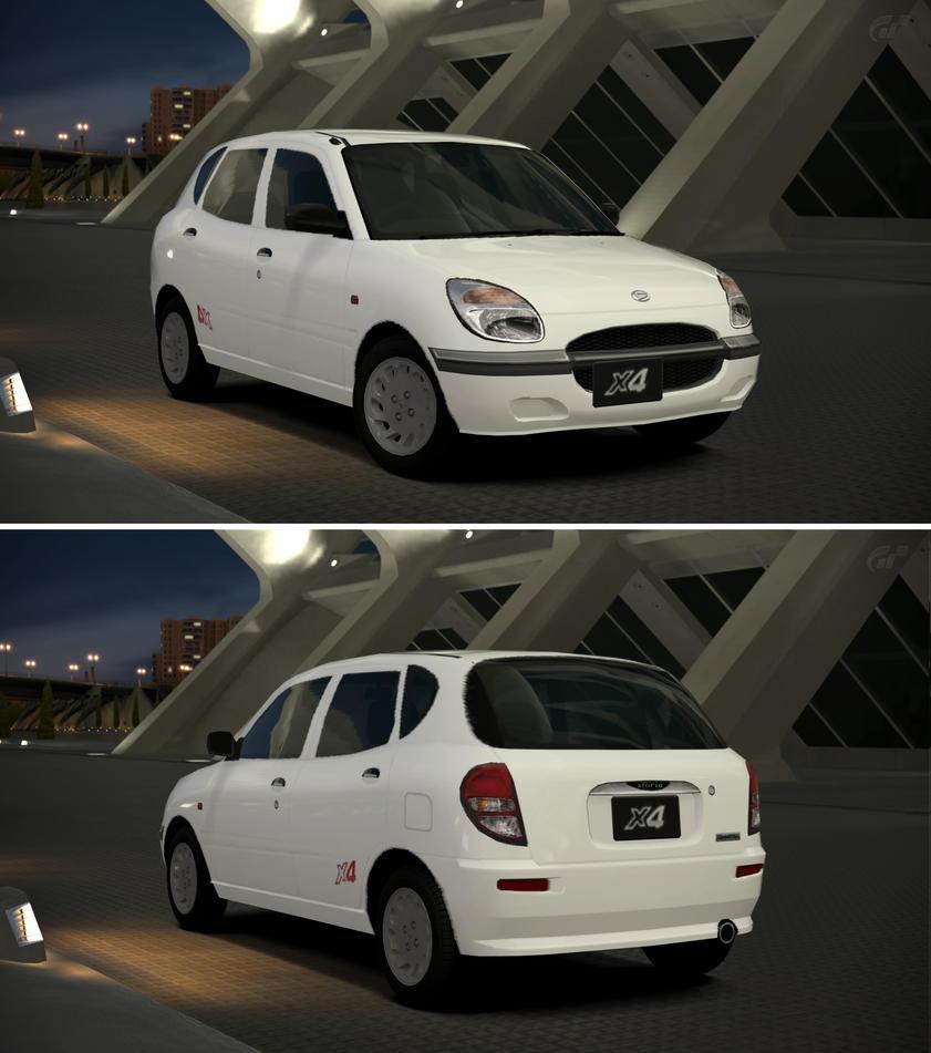 Daihatsu SIRION X4 (J) '00 By GT6-Garage On DeviantArt