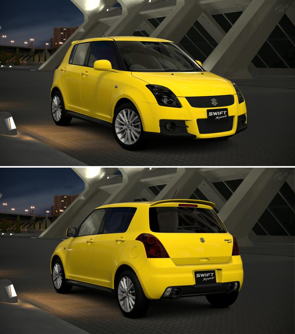 Suzuki Swift Sport: Suzuki SWIFT Sport '05 By GT6-Garage On DeviantArt