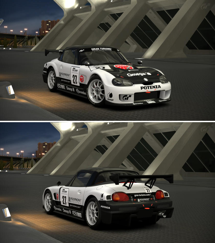 Suzuki Cappuccino (EA21R) Race Car '95 By GT6-Garage On