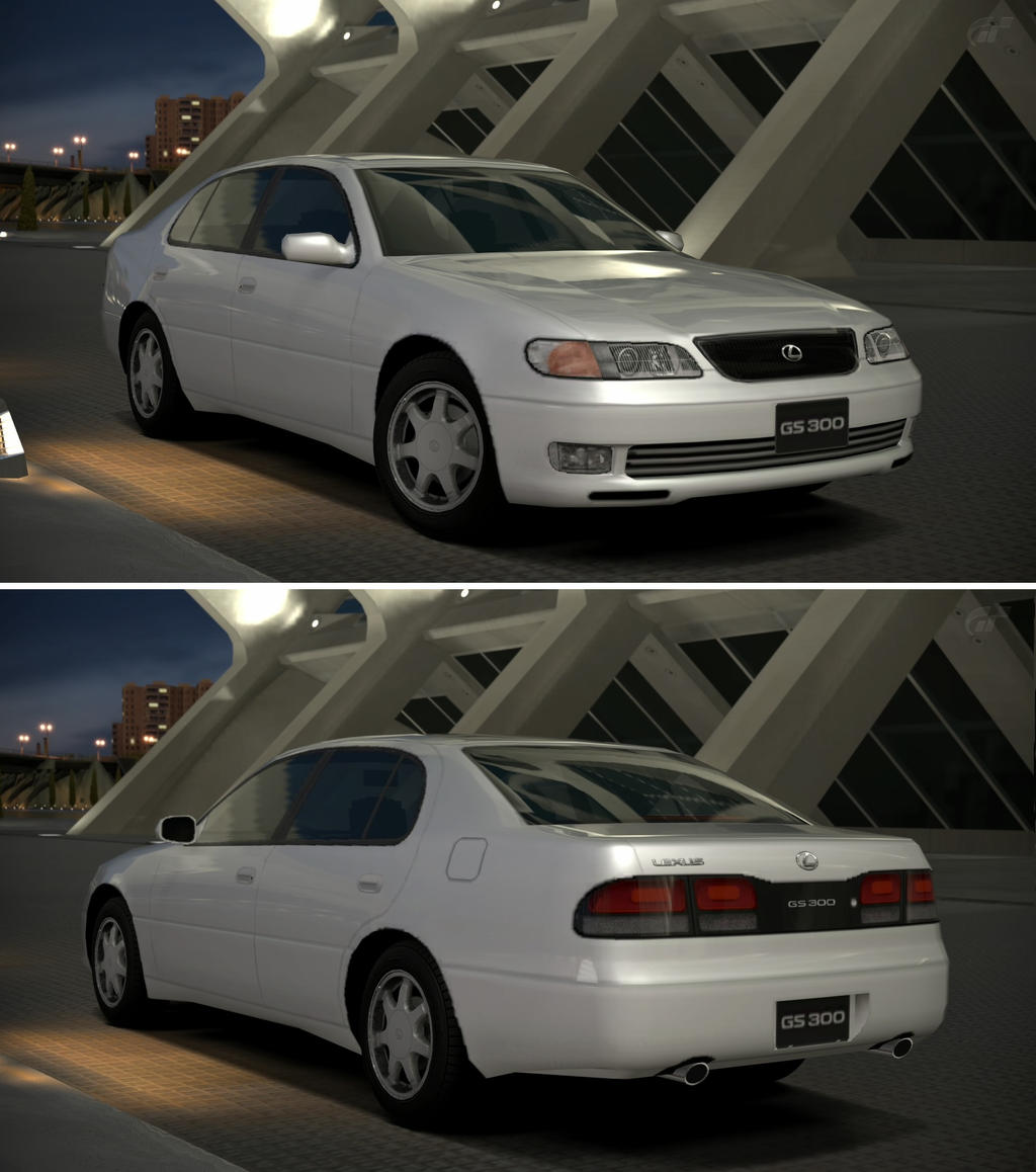 Lexus Gs 300 91 By Gt6 Garage On Deviantart