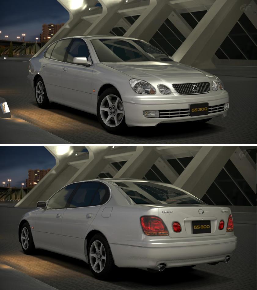 Lexus Gs 300: Lexus GS 300 '00 By GT6-Garage On DeviantArt
