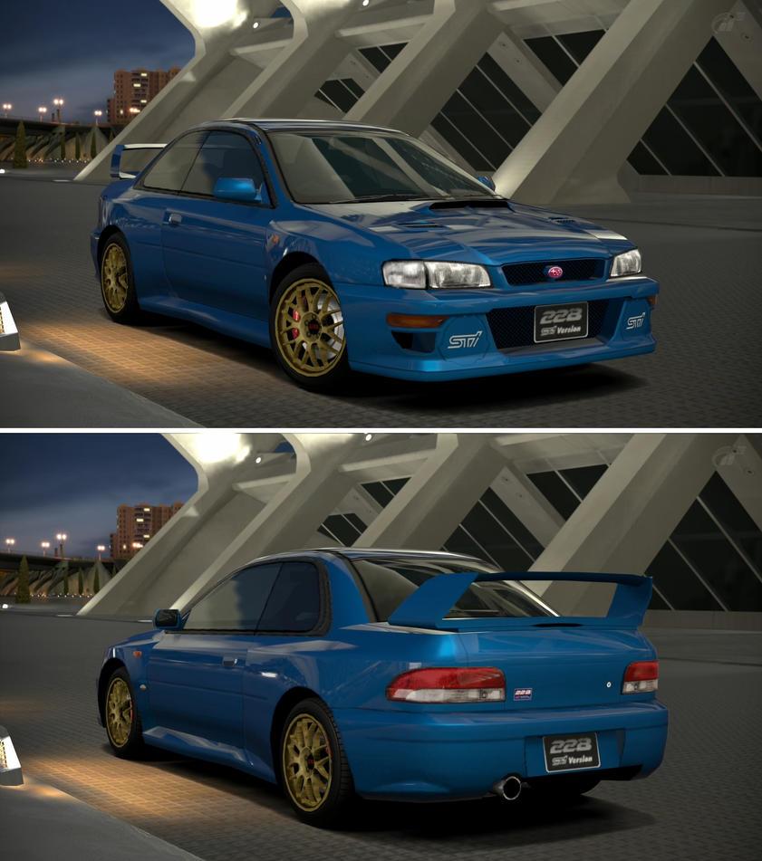 Subaru IMPREZA Coupe 22B-STi Version '98 by GT6-Garage on ...