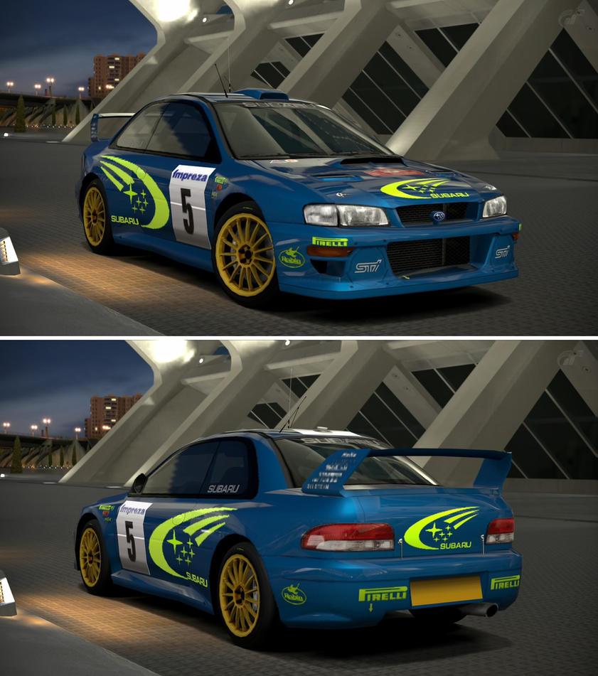Subaru IMPREZA Rally Car '99 By GT6-Garage On DeviantArt