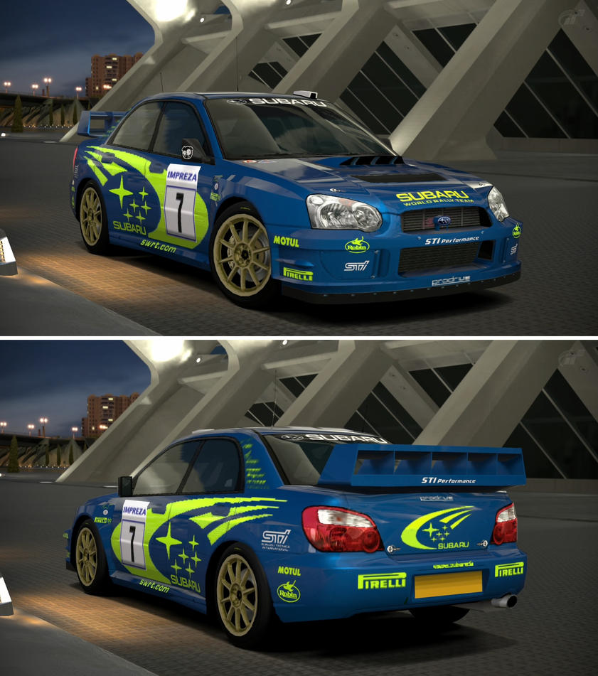 Subaru IMPREZA Rally Car \'03 by GT6-Garage on DeviantArt