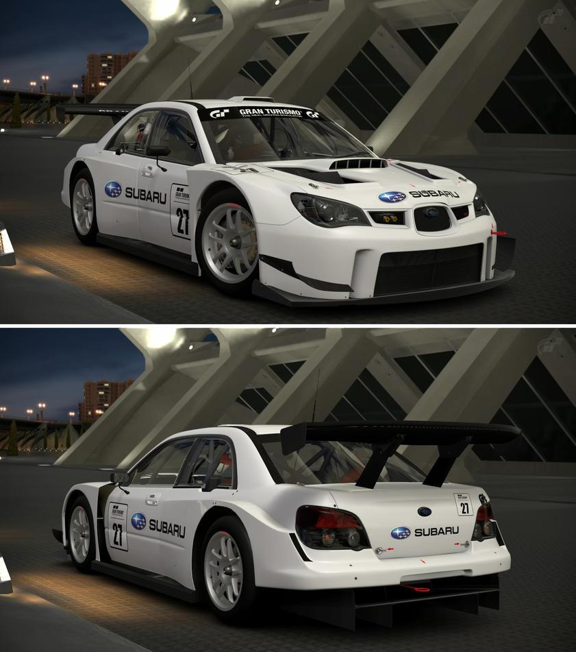 Subaru IMPREZA GT300 Base Model '08 by GT6-Garage on ...