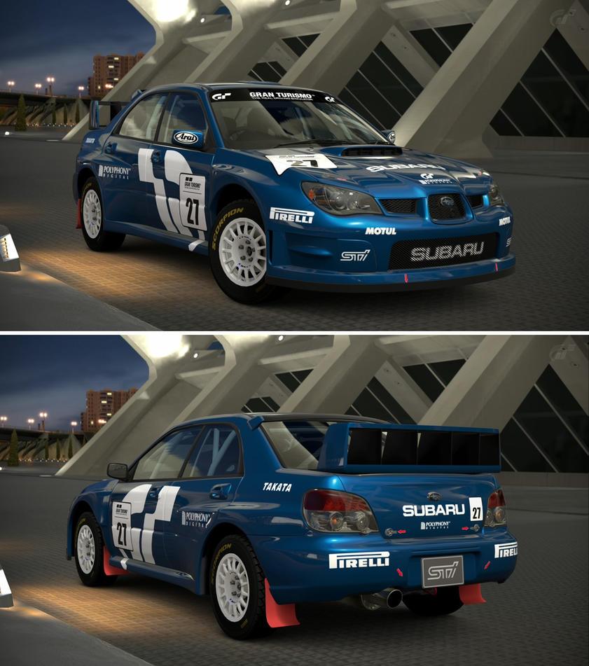 Subaru IMPREZA Sedan WRX STI Rally Car \'05 by GT6-Garage on DeviantArt