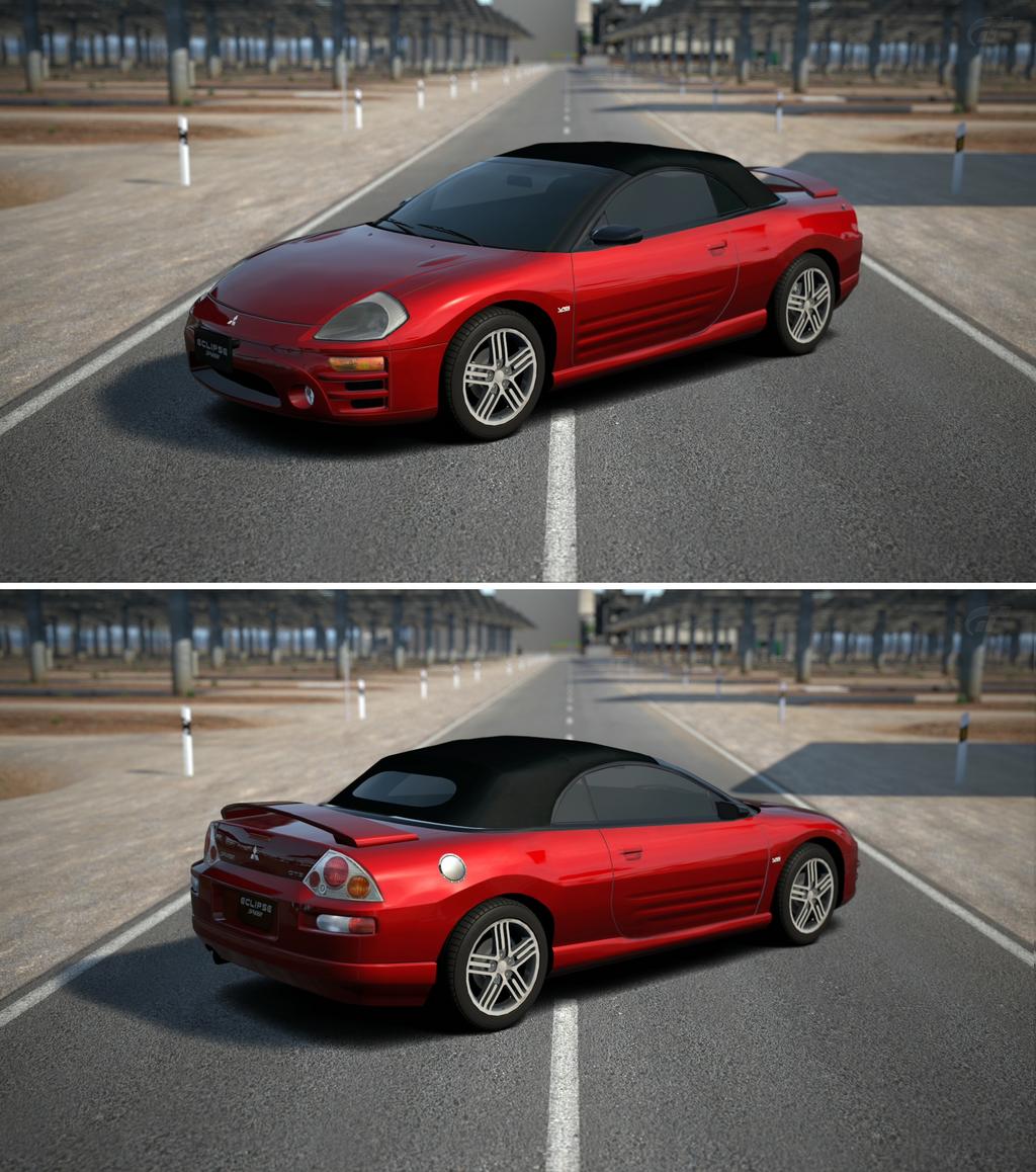 Mitsubishi Eclipse Gt: Mitsubishi ECLIPSE Spyder GTS '03 By GT6-Garage On DeviantArt