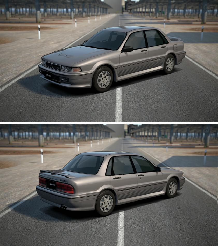 Galant Car: Mitsubishi GALANT 2.0 DOHC Turbo VR-4 '89 By GT6-Garage On