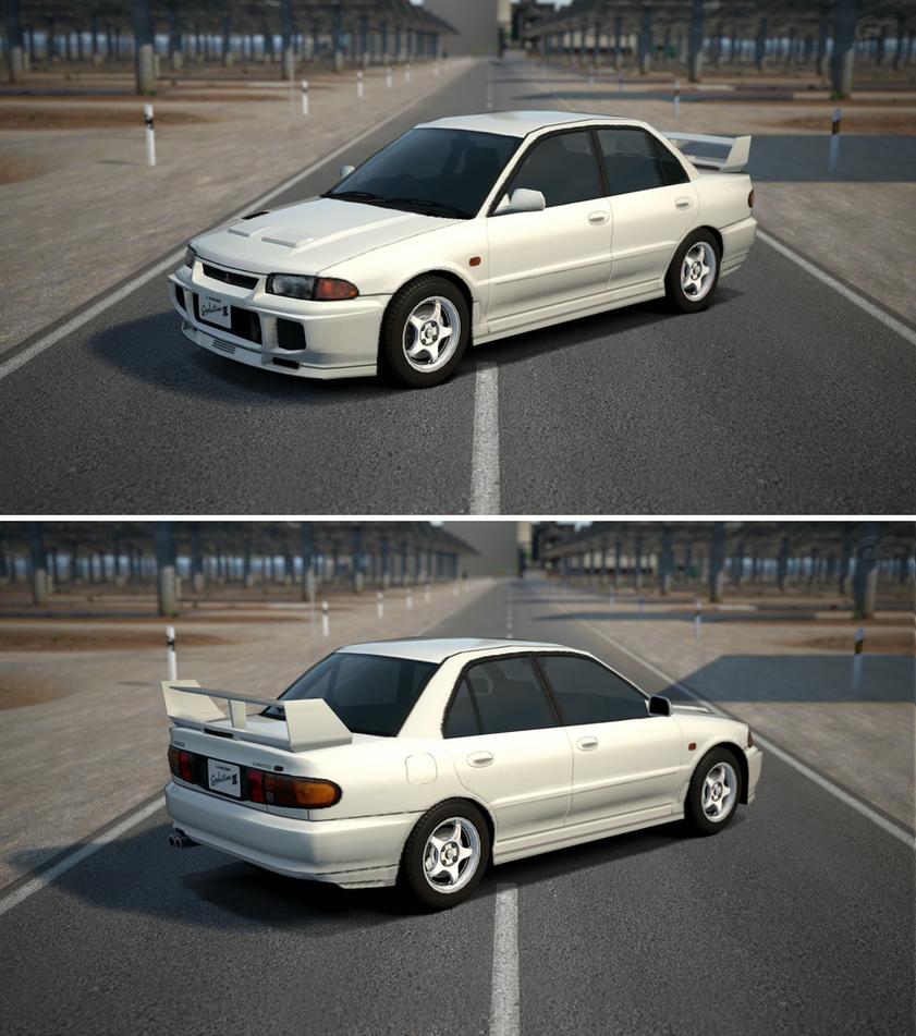 mitsubishi lancer evolution iii gsr 39 95 by gt6 garage on