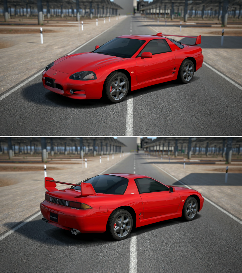 Mitsubishi 3000gt vr 4 j 39 98 by gt6 garage on deviantart for Garage mitsubishi valence