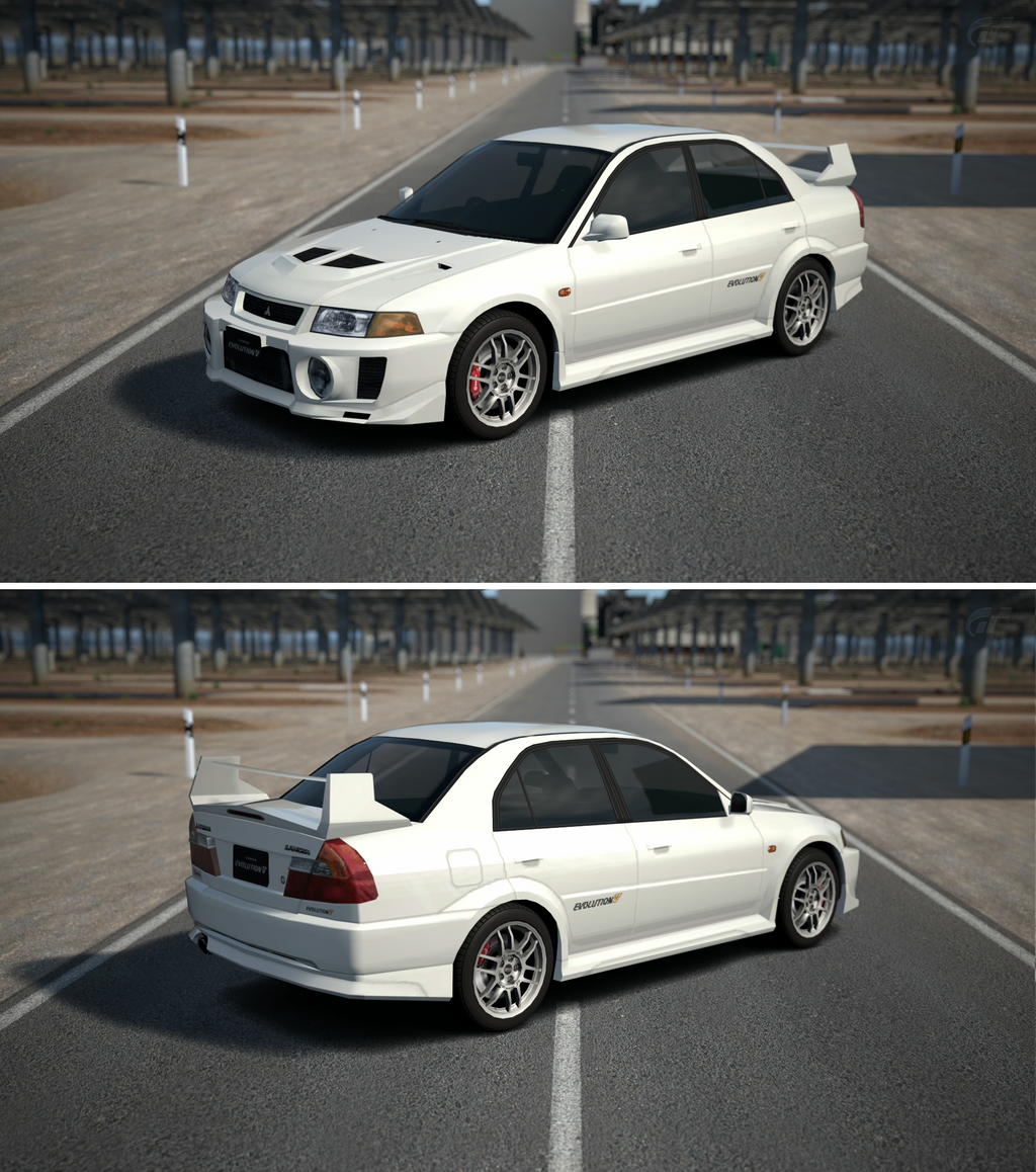 Mitsubishi Lancer Evolution V Gsr 98 By Gt6 Garage On