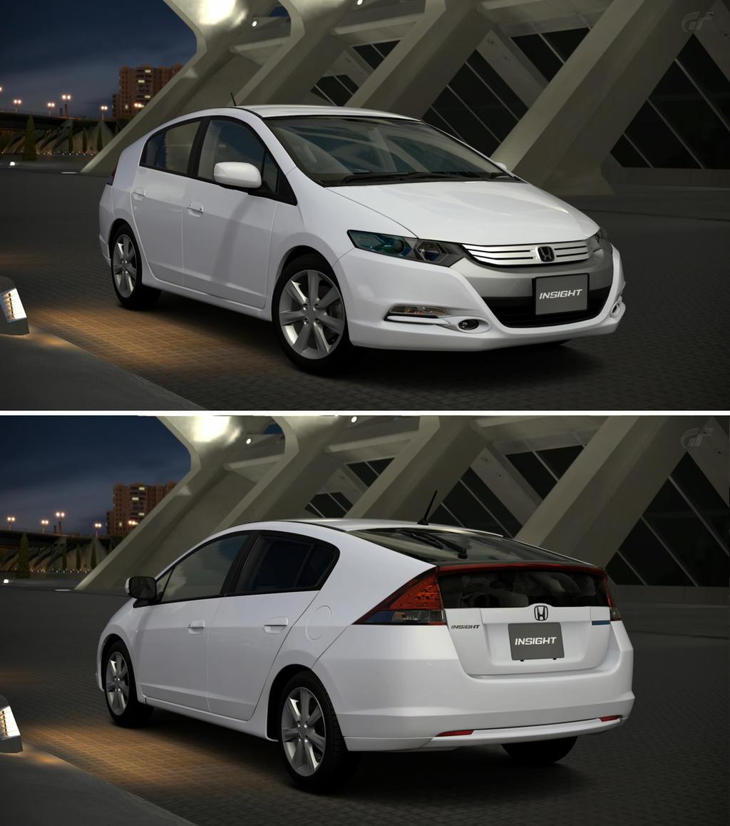Honda INSIGHT LS '09 By GT6-Garage On DeviantArt
