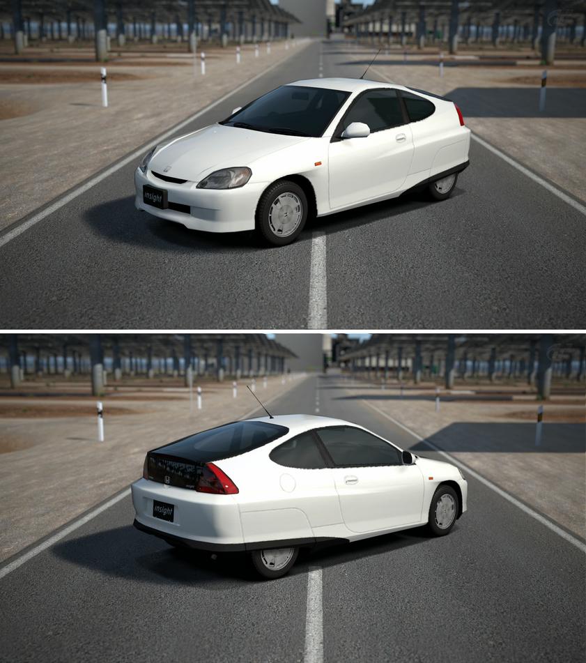 Honda INSIGHT '99 By GT6-Garage On DeviantArt