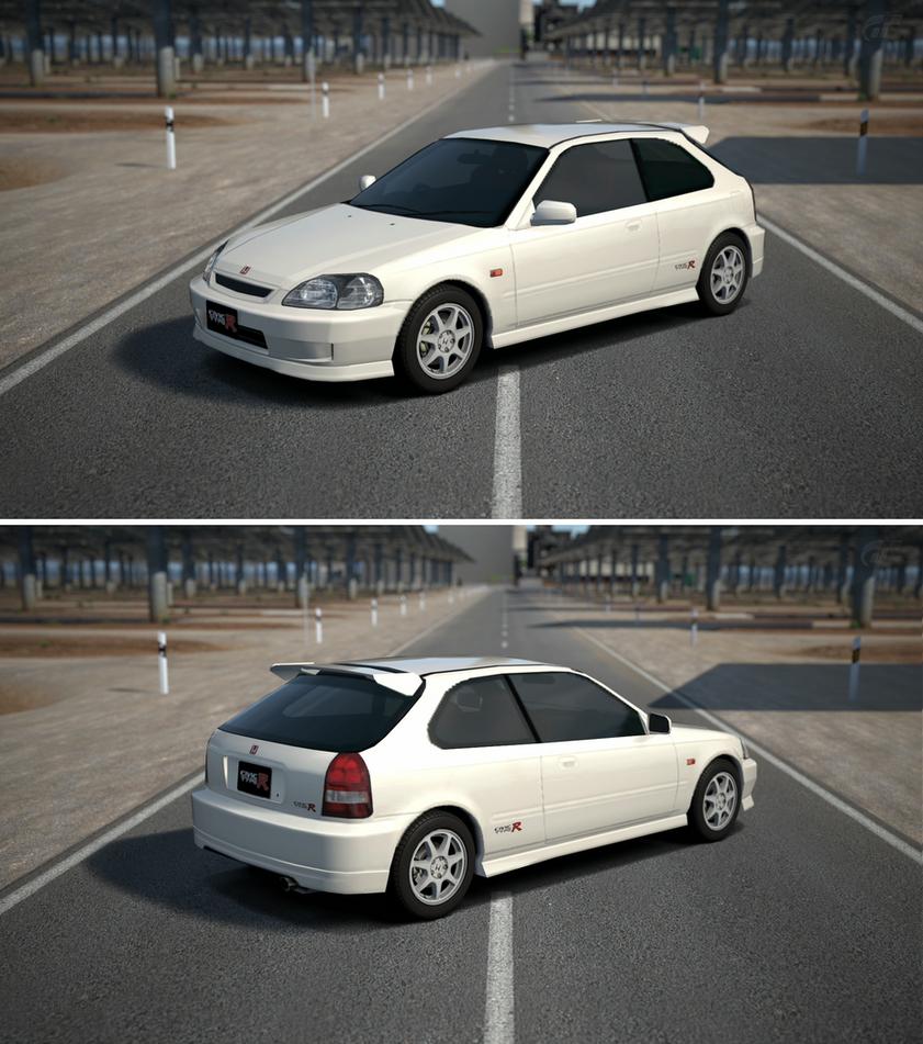 98 Acura Integra Type R For Sale: Honda CIVIC TYPE R (EK) '98 By GT6-Garage On DeviantArt