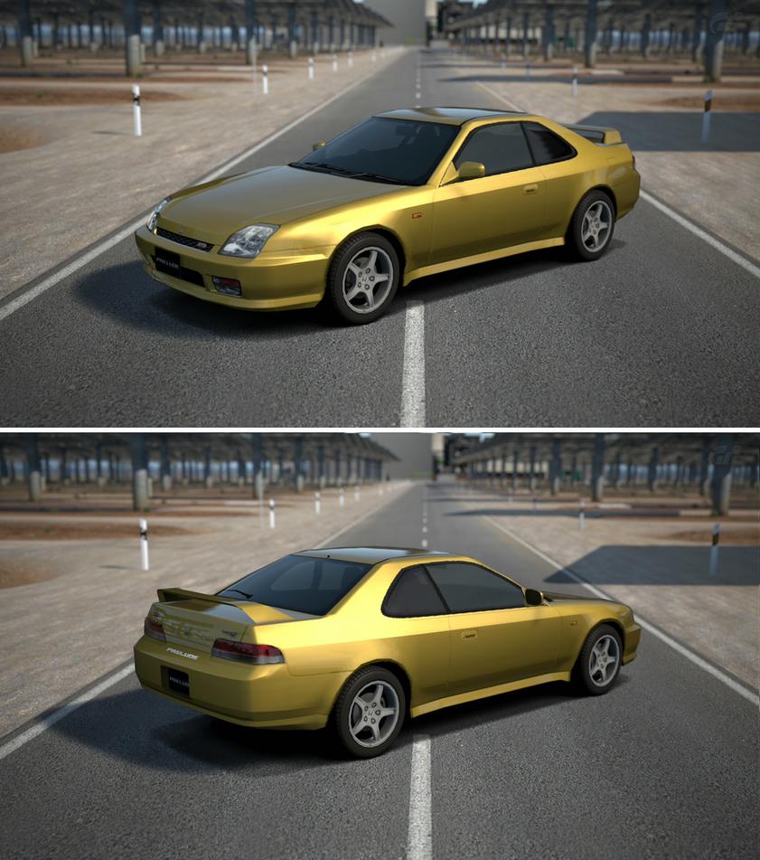 Honda Prelude Type Sh 1998 Front: Honda PRELUDE Type S '98 By GT6-Garage On DeviantArt