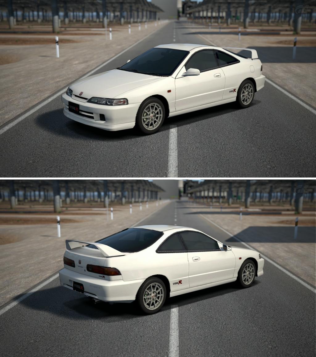 Honda INTEGRA TYPE R (DC2) '99 By GT6-Garage On DeviantArt