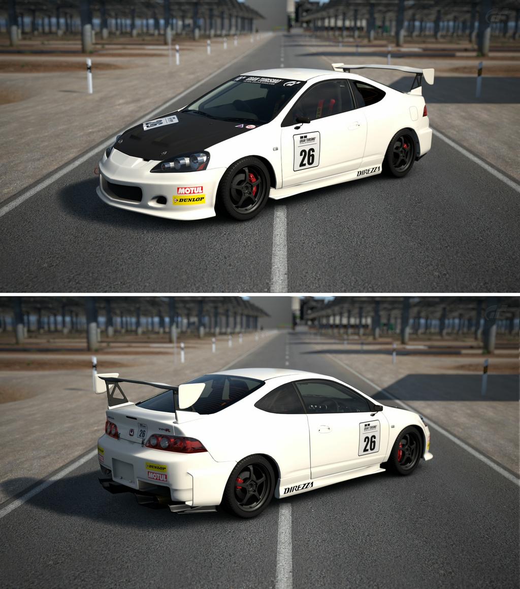 Honda INTEGRA TYPE R (DC5) Touring Car '04 By GT6-Garage