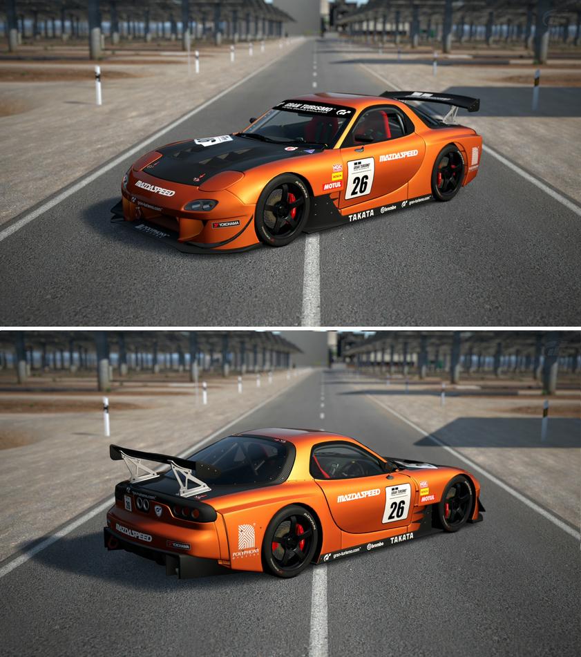 Mazda rx 7 touring car by gt6 garage on deviantart for Garage auto 7