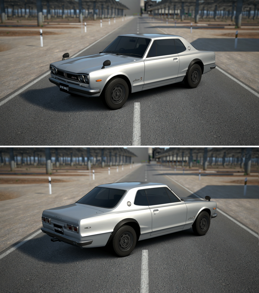 Nissan SKYLINE Hard Top 2000GT-R (KPGC10) '70 by GT6-Garage on ...