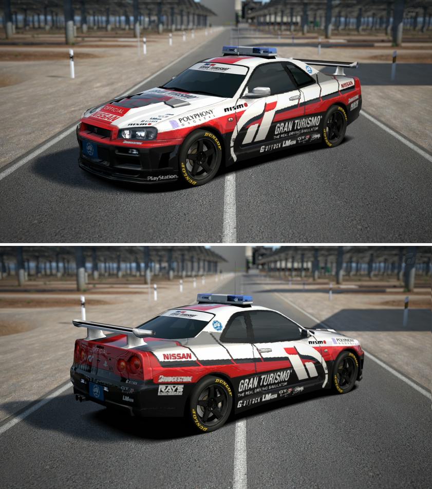Nissan GRAN TURISMO SKYLINE GT-R (PaceCar) '01 By GT6