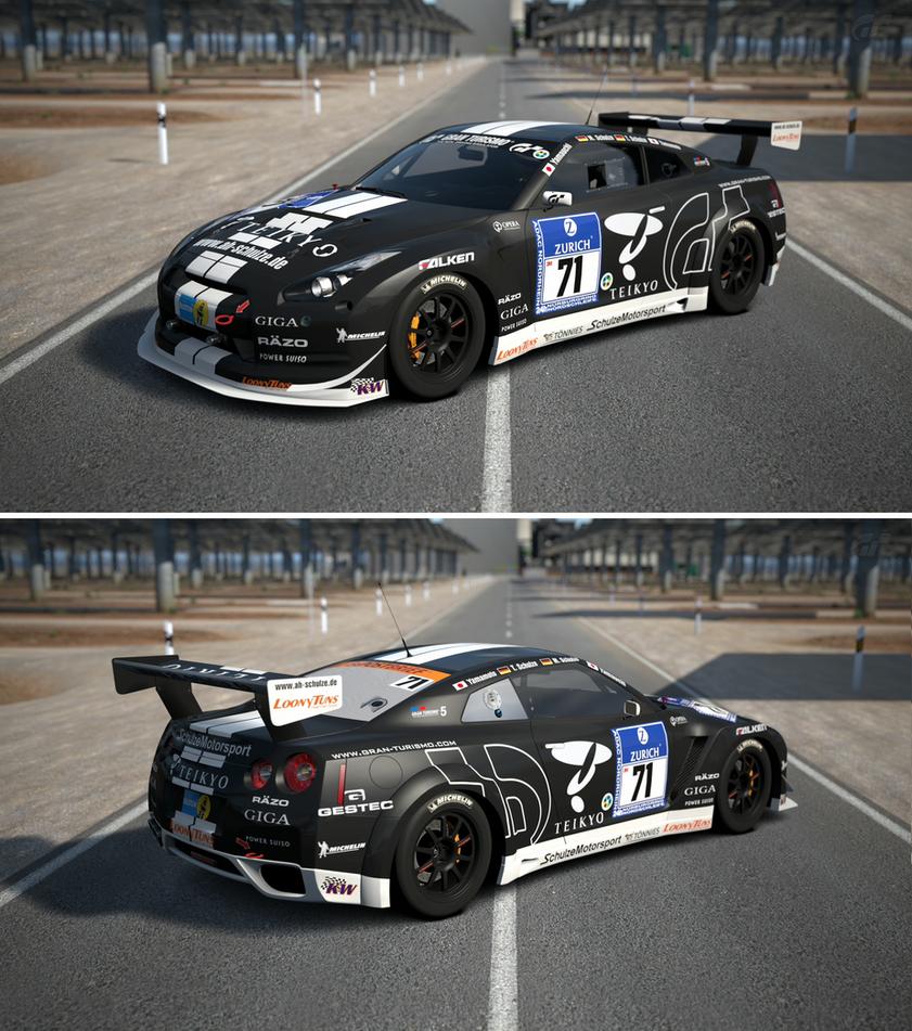 Nissan Skyline R35 Wallpapers Group 79: Nissan GT-R N24 Schulze Motorsport '11 By GT6-Garage On