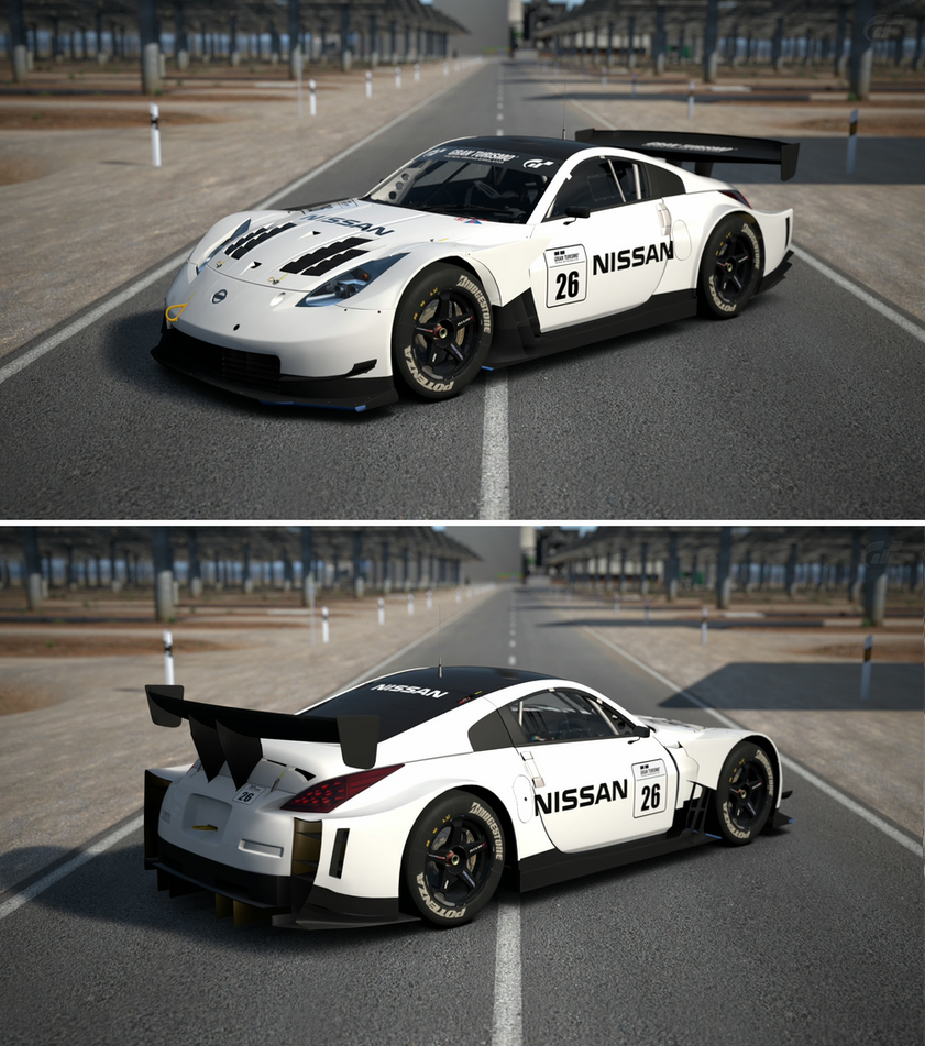 Nissan z gt500 base model 39 06 by gt6 garage on deviantart for Garage nissan colmar