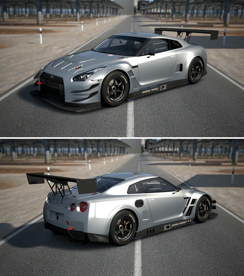 Nissan Skyline R35 Wallpapers Group 79: Nissan GT-R NISMO GT3 '13 By GT6-Garage On DeviantArt