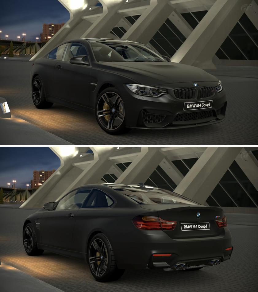 Bmw Z4 2014 Black: BMW M4 Coupe Frozen Black Metallic By GT6-Garage On DeviantArt