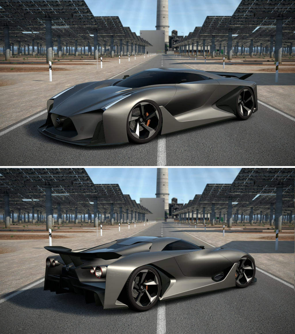 Nissan Skyline R35 Wallpapers Group 79: NISSAN CONCEPT 2020 Vision Gran Turismo By GT6-Garage On