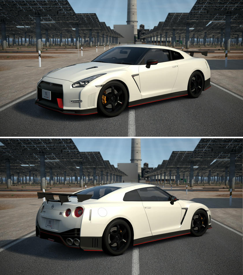 Nissan Skyline R35 Wallpapers Group 79: Nissan GT-R NISMO '14 By GT6-Garage On DeviantArt