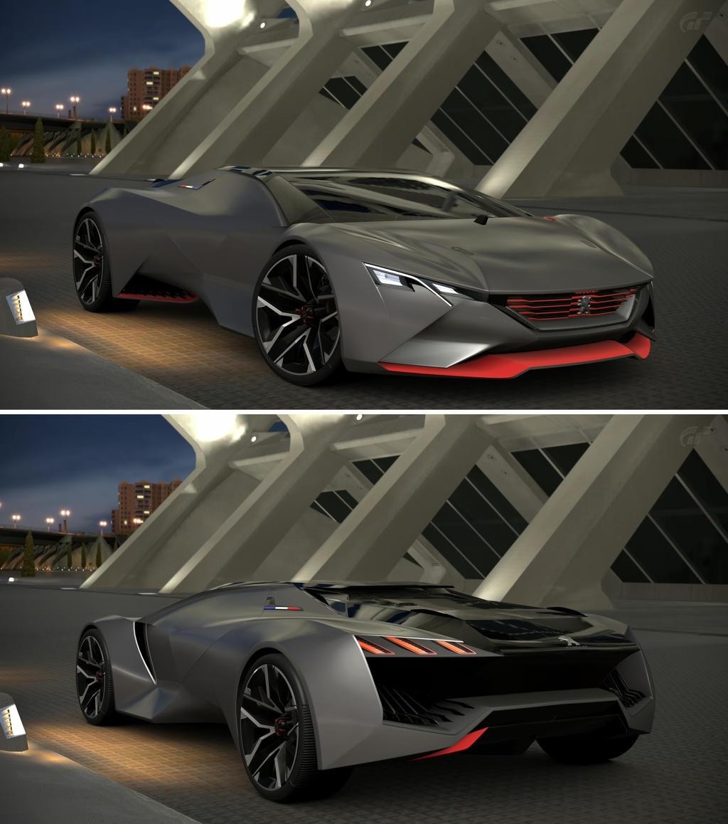 PEUGEOT Vision Gran Turismo By GT6 Garage