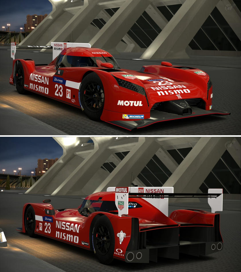 Nissan Skyline R35 Wallpapers Group 79: Nissan GT-R LM NISMO '15 By GT6-Garage On DeviantArt