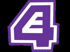 E4 logo in craze format Ver.2 by DLEDeviant