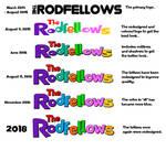 The Rodfellows Logo Evolution