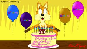 Hashbrown's 33rd Birthday