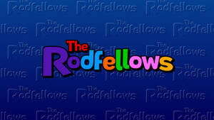 The Rodfellows Pattern Wallpaper (New) with Logo